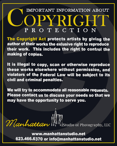 Copyright Notice Manhattan Studios
